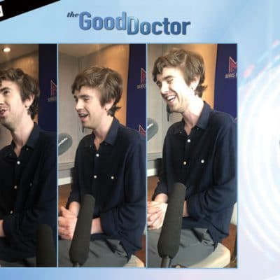 the good doctor séries mania freddie highmore interview