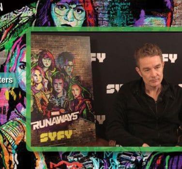 james marsters video interview marvel runaways buffy