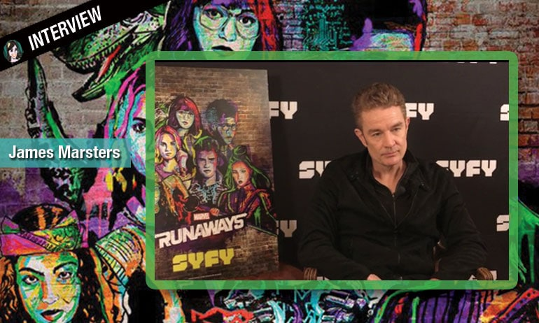 james marsters video interview marvel runaways buffy