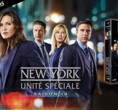 jeu concours New-York Unité Spéciale saison 19