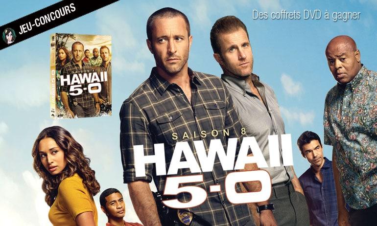 hawai five 0 saison 8 dernière saison jeu concours bon plan gratuit réduction DVD