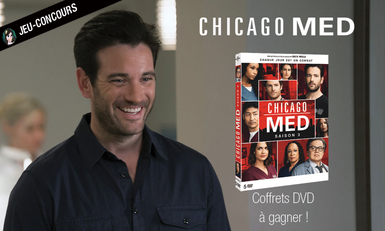 chicago med jeu concours dvd