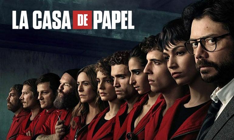 LA CASA DE PAPEL saison 3 : vol sous haute pression !