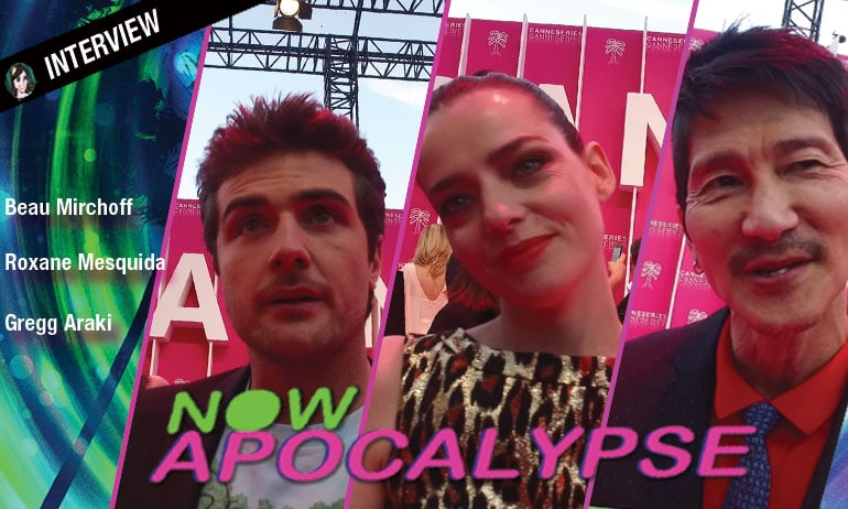 now apocalypse avis video interview Beau Mirchoff, Gregg Araki Roxane Mesquida