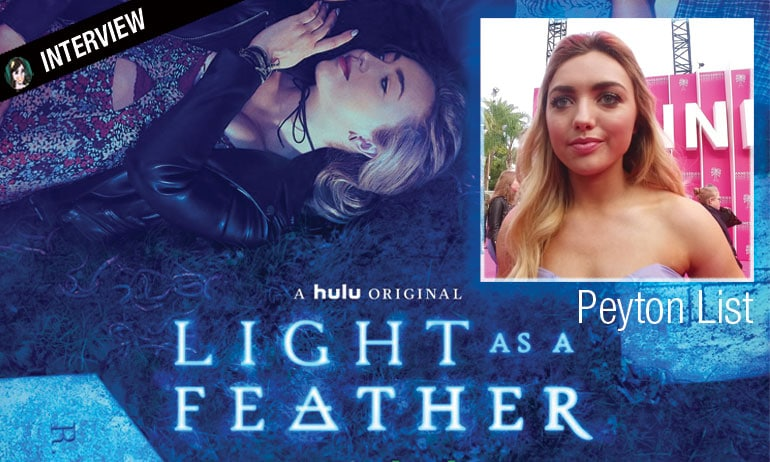 peton list light as a feather interview video