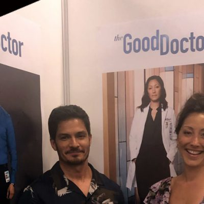 good doctor saison 2 nicholas gonzalez neil melendez audrey lim christiana chang tf1 interview