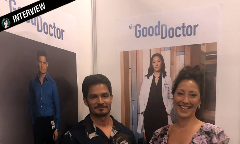 GOOD DOCTOR : Interview Christina Chang & Nicholas Gonzalez