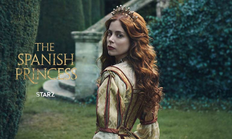 the spanish princess avis série starz