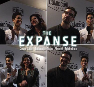 the expanse saison 4 interview video steven strait shohreh aghdashloo dominique tipper