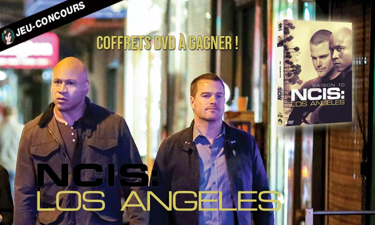 ncis los angeles dvd cadeau