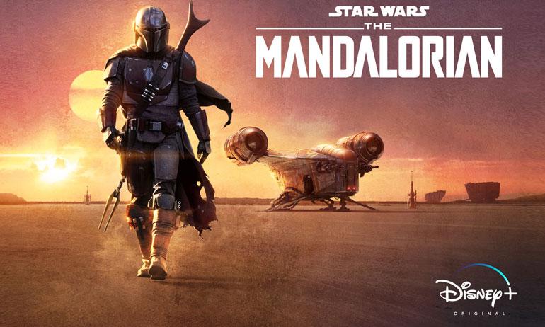 the mandalorian série star wars disney +