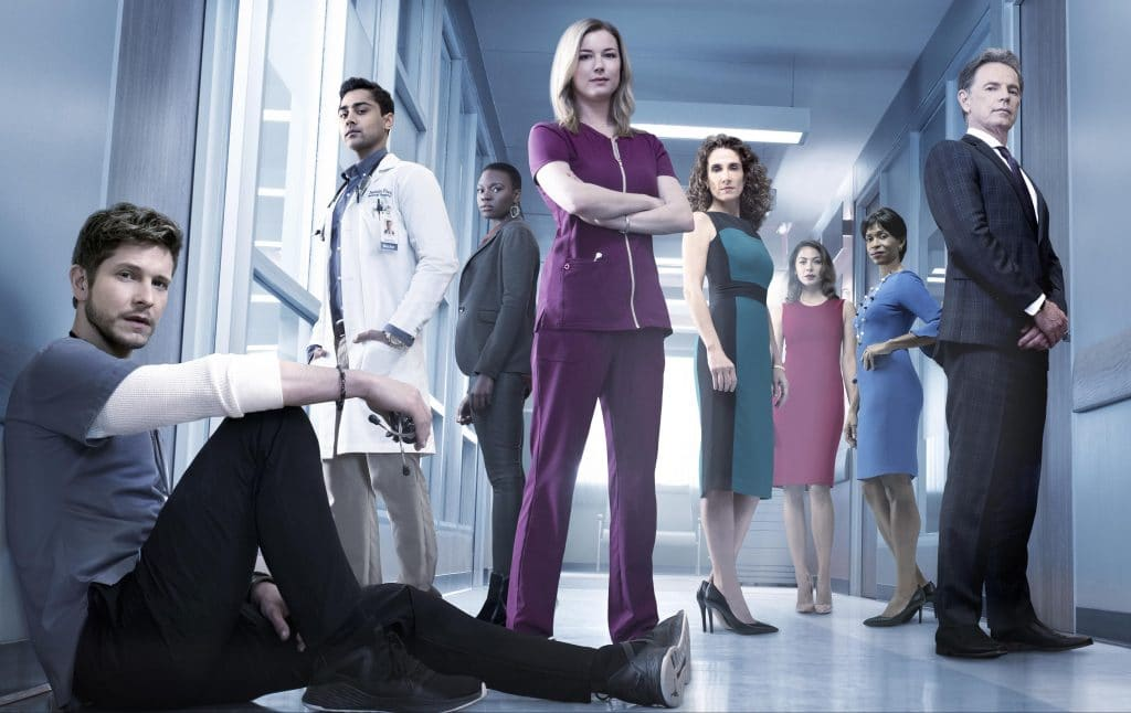 the resident serie tf1