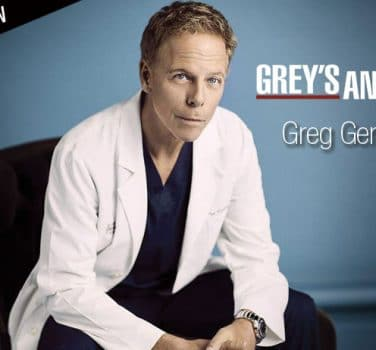 greg german grey's anatomy interview