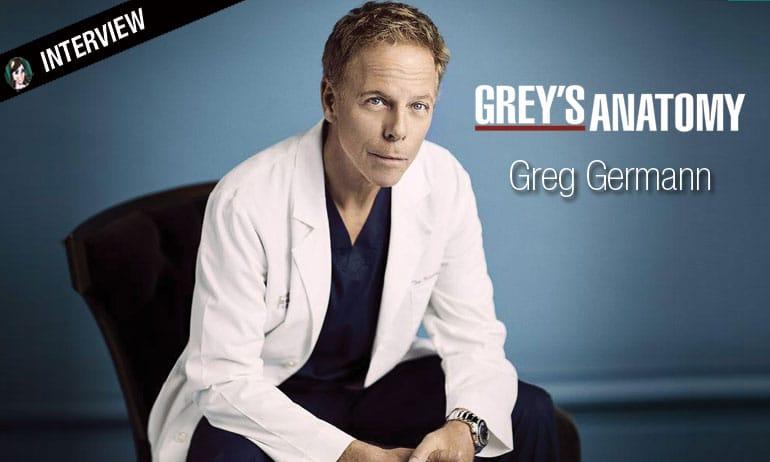 greg german grey's anatomy interview