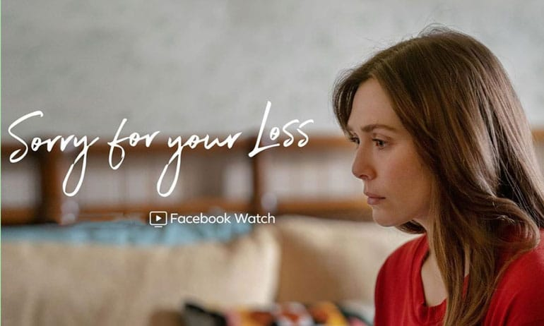 sorry for your loss saison 2 avis facebook watch