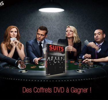 jeu concours suits saison 9 gagner DVD