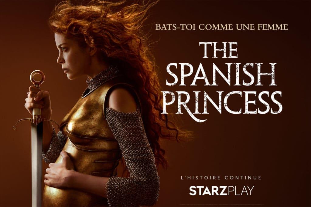 the spanish princess starzplay saison 2