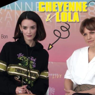cheyenne et lola charlotte le bon veerle baetens