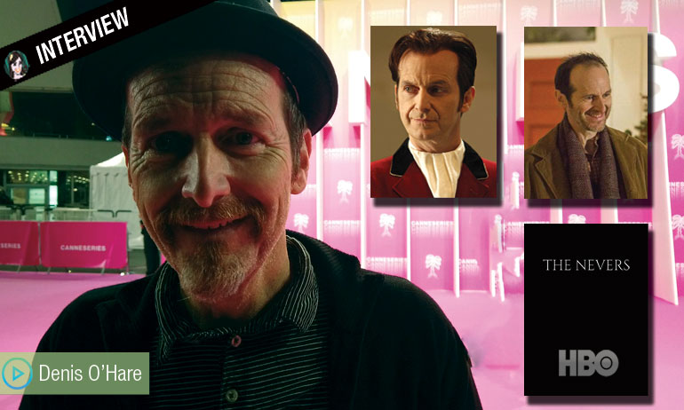 [VIDEO] TRUE BLOOD, THE NEVERS, THIS IS US : Denis O'Hare dit tout !