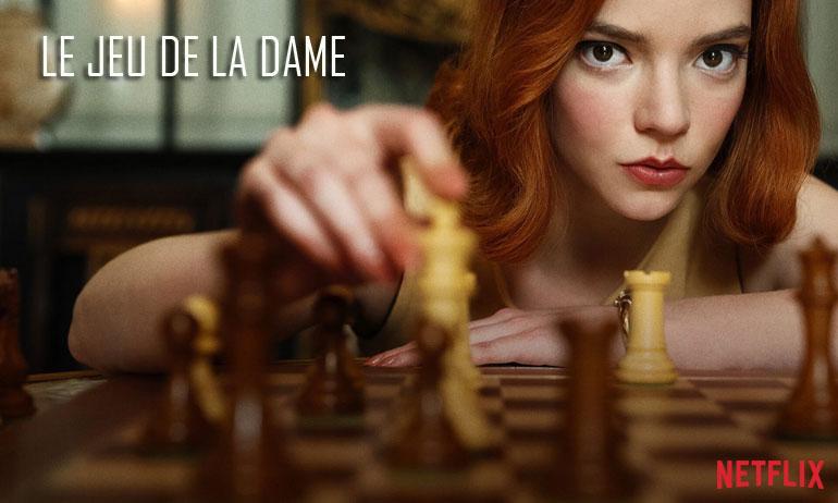 le jeu de la dame netflix avis