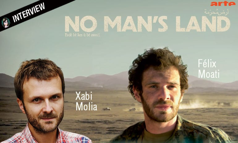 NO MAN'S LAND : interview Félix Moati et Xabi Molia