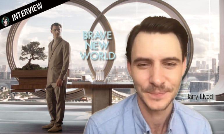 interview harry llyod brave new world starzplay