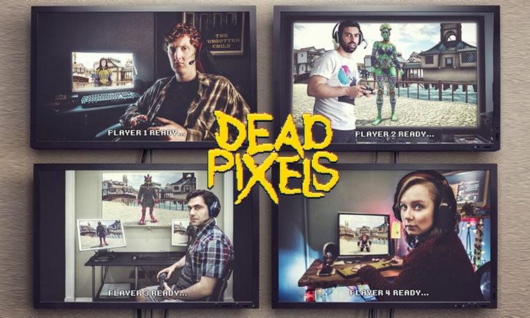 dead pixels série avis canal + séries