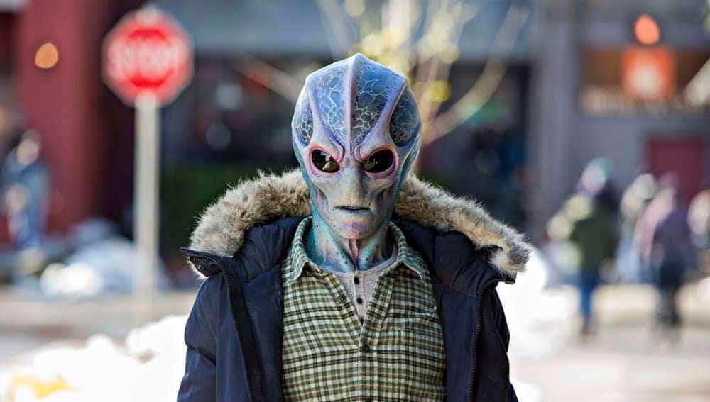 resident alien avis série syfy