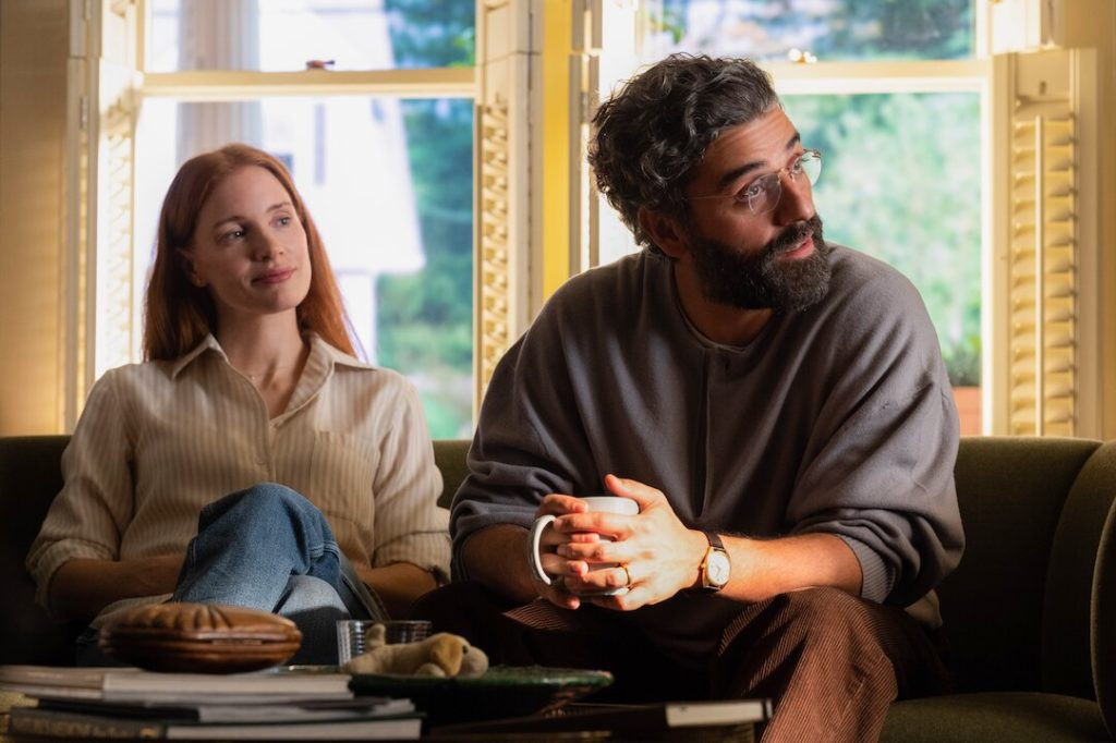 Scenes from a marriage jessica chastain oscar isaac