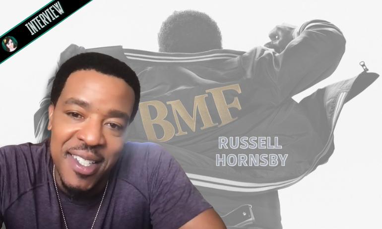 Interview Russell Hornsby, le père dans BMF !